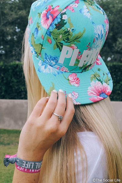 Pi Beta Phi Hawaiian Snapback