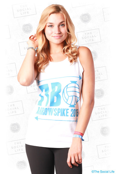 Pi Phi Arrow Spike Tank