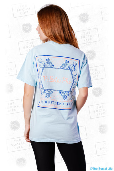 Pi Phi Floral Recruitment Tee