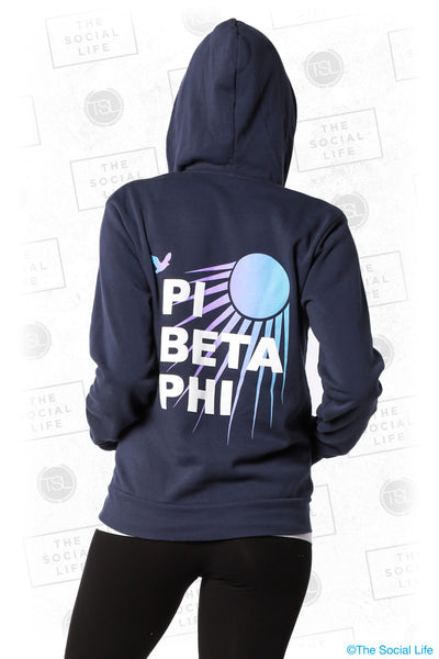 Pi Beta Phi Sunshine Zip Up