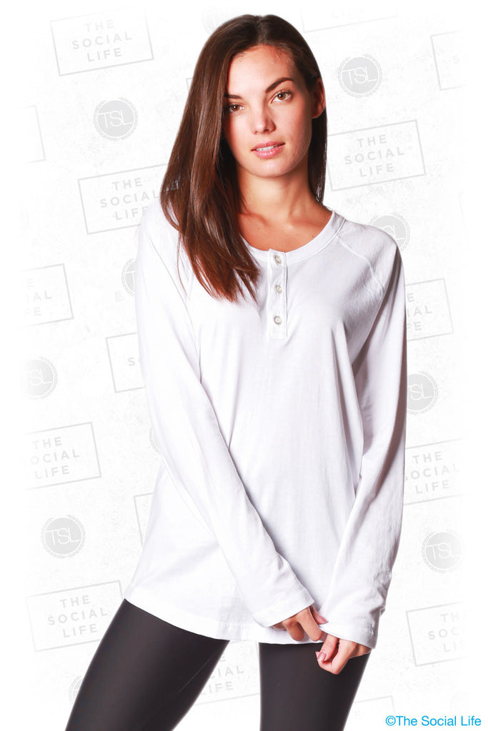 The Vintage Boyfriend Henley