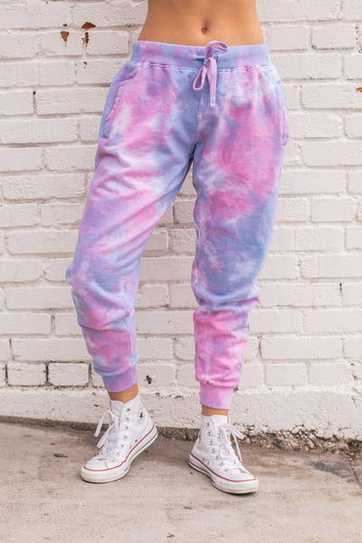 Custom Tie Dye Jogger Sweatpants