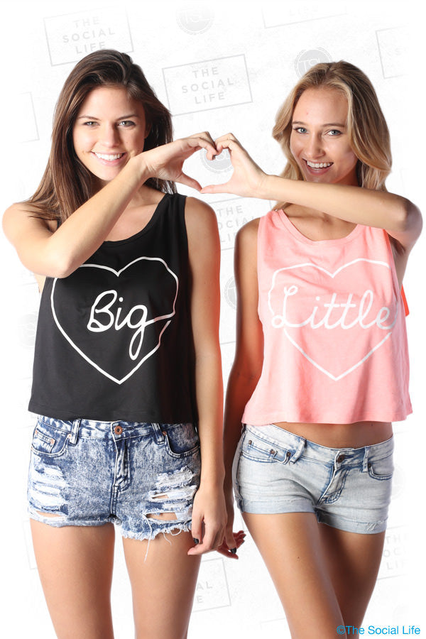Big & Little Crop Tanks