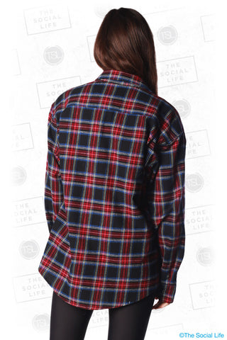 Black Cherry Flannel