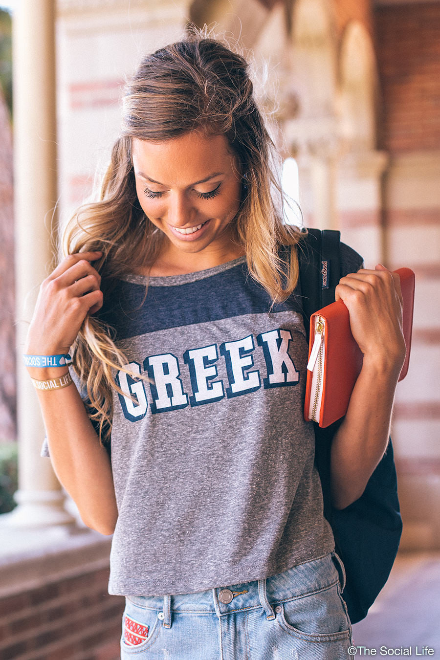 The Classic Greek Sporty Top – The Social Life | Premium