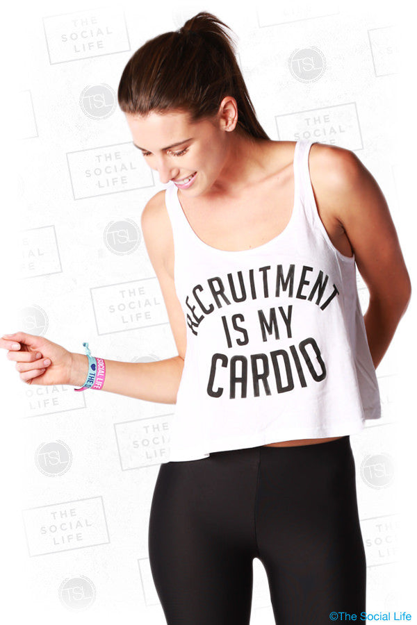 Recruitment is my Cardio Crop