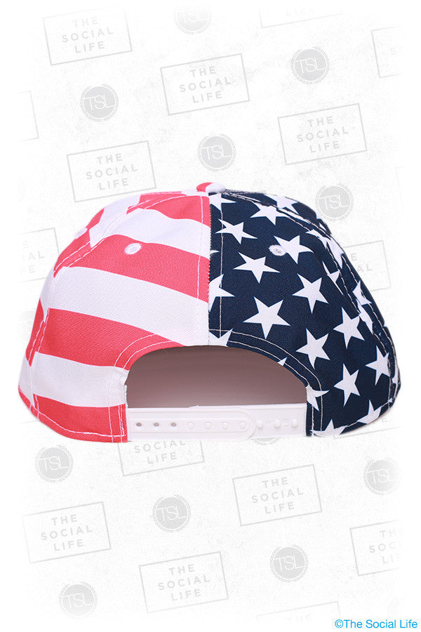 The Patriot Split Snapback