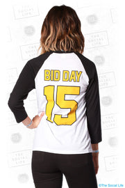 Zeta Tau Alpha Baseball Bid Day Tee