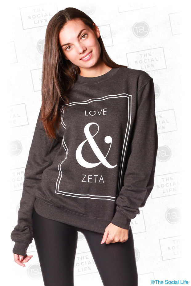 Love and Zeta Sweatshirt