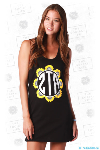 ZTA Sunflower Tank Dress