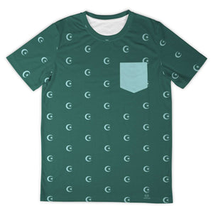 Hilal T-Shirt all-over homme