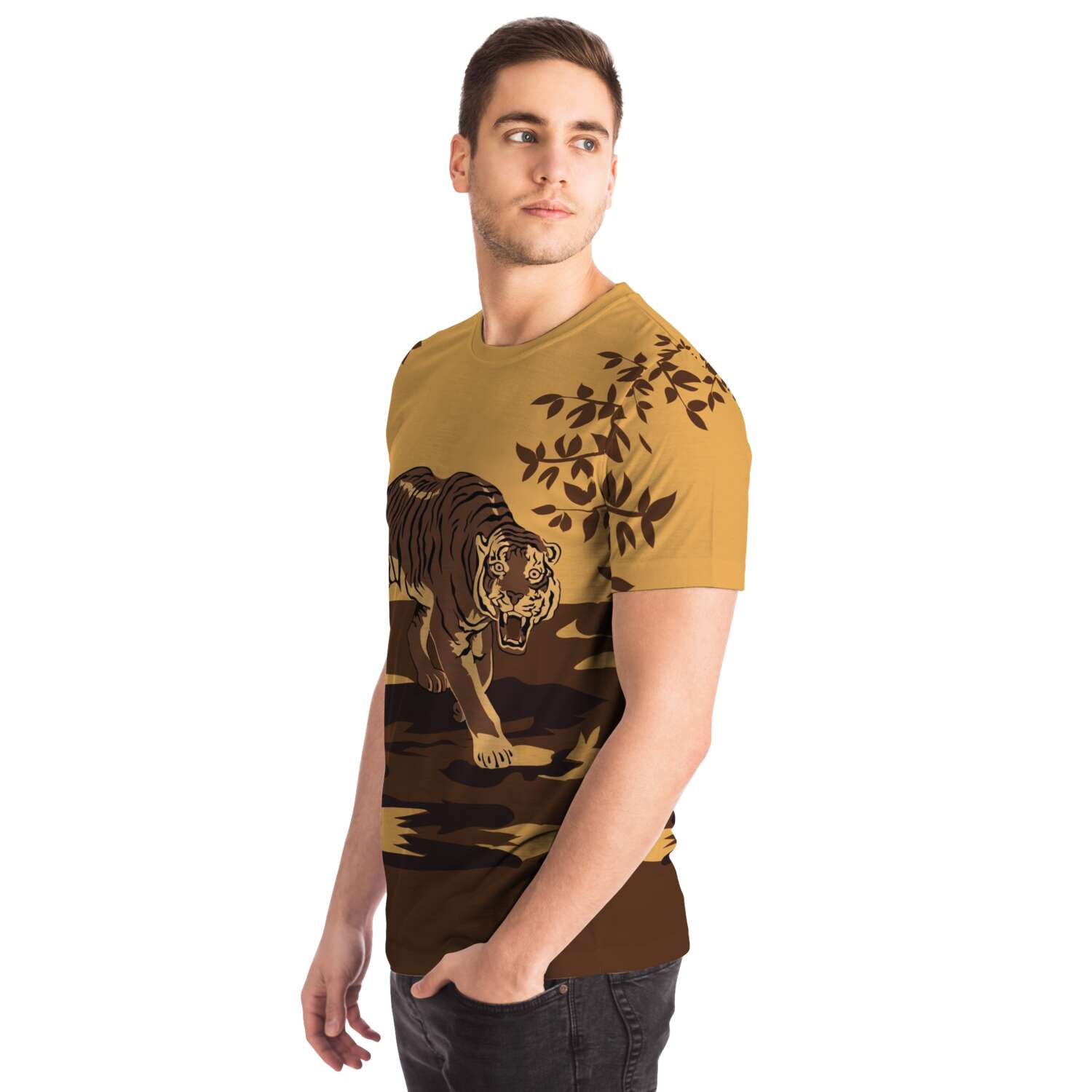 Couverture Tigre T-Shirt All-over homme
