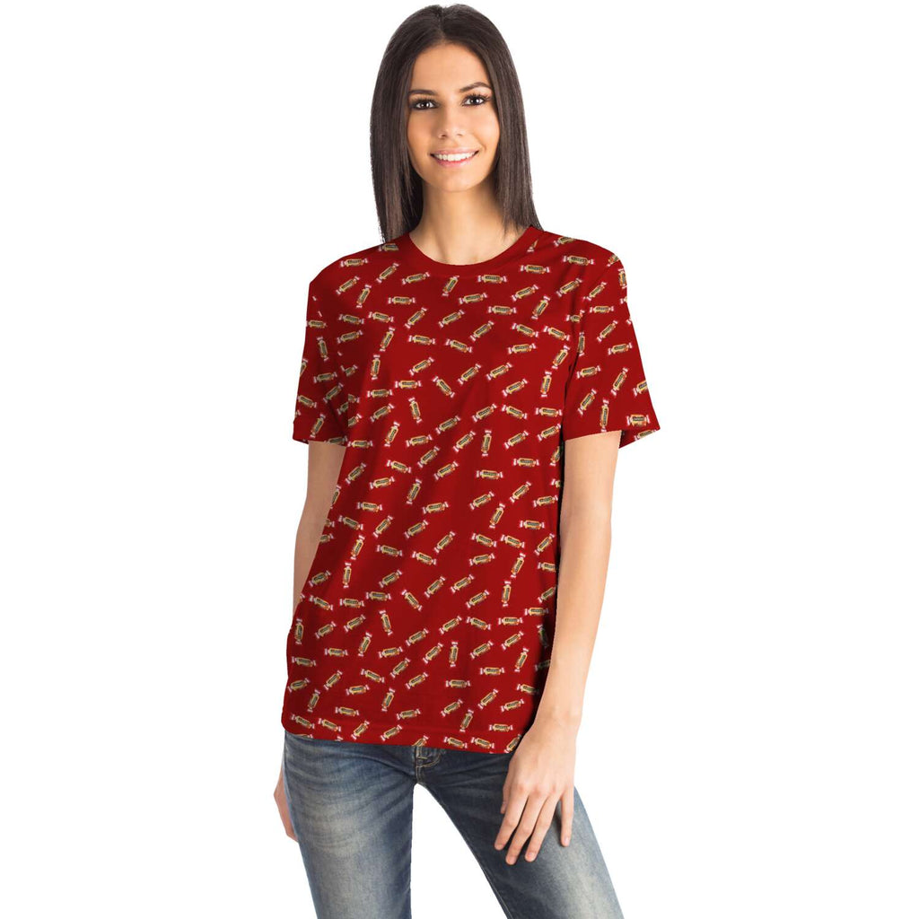 Caprice all-over T-Shirt femme