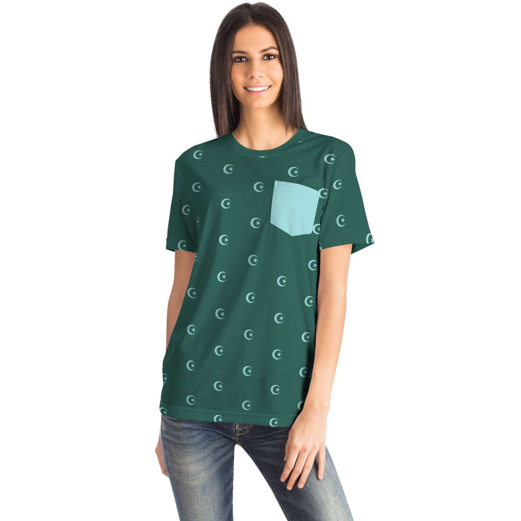 Hilal T-Shirt all-over femme