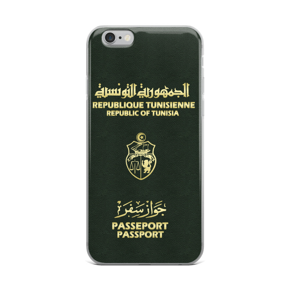 Passeport Tunisien coque iPhone