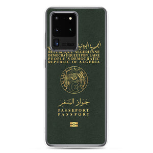 Passeport coque Samsung