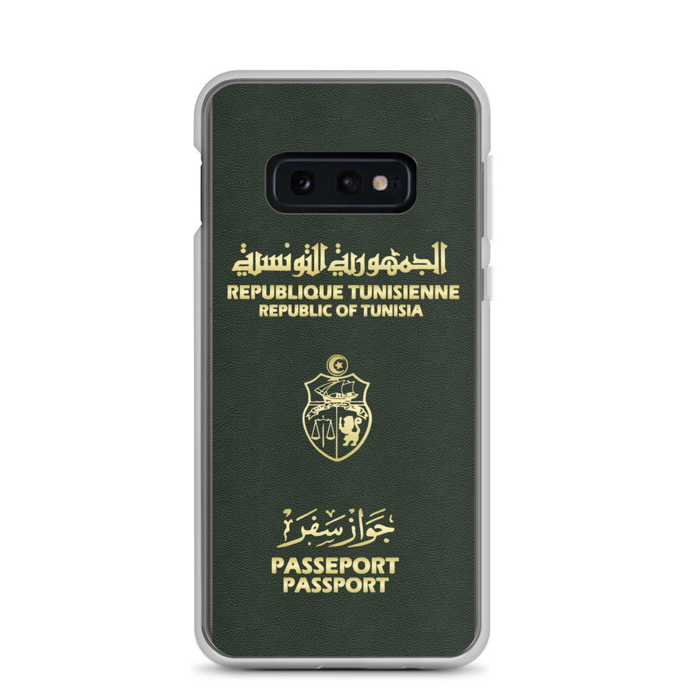 Passeport Tunisien coque Samsung