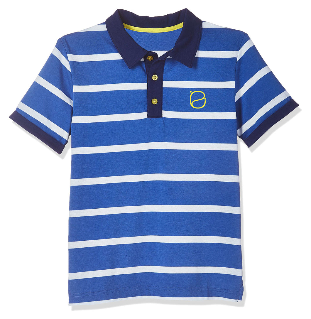 Emosewa Boys Classic Short Sleeve Polo Shirt
