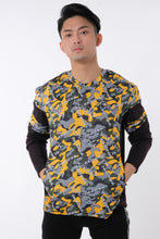 Load image into Gallery viewer, LOGOMANIA Contemporary Camo Long Sleeve Tee