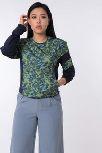 LOGOMANIA Classic Camo Long Sleeve Tee