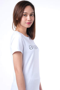 SIGNATURE LIGHT WHITE SHORT SLEEVE TEE