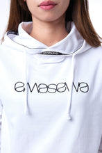 Load image into Gallery viewer, SIGNATURE LIGHT WHITE HOODIE