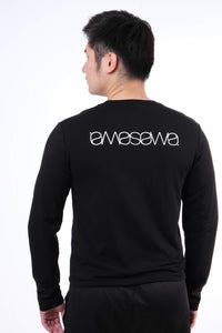 SIGNATURE NIGHT BLACK LONG SLEEVE TEE