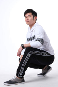ID NIGHT BLACK JOGGER PANTS
