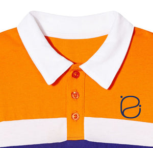 Emosewa Boys Long Sleeve Blend Polo Shirt