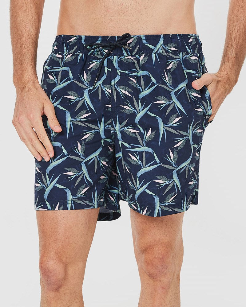 Birds Of Paradise Board Shorts Plus