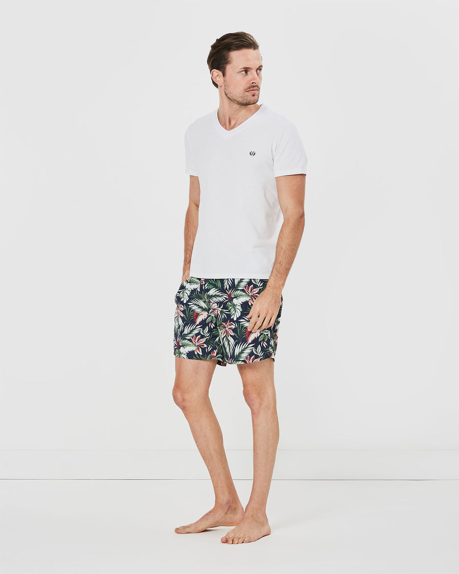 Floral Cruise Board Short