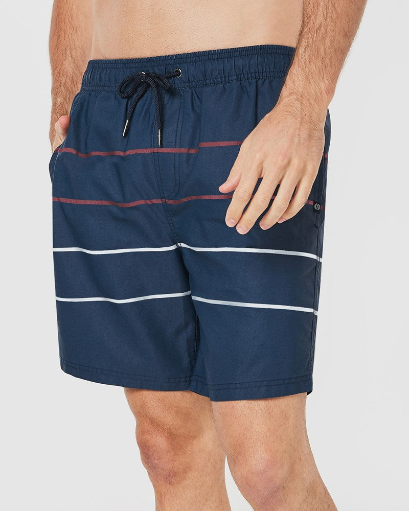 Plus Parallel Board Shorts in Navy