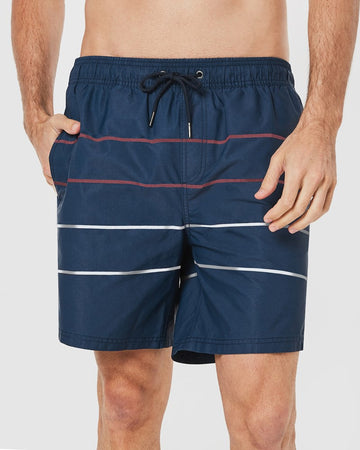 Parallel Board Shorts in Navy