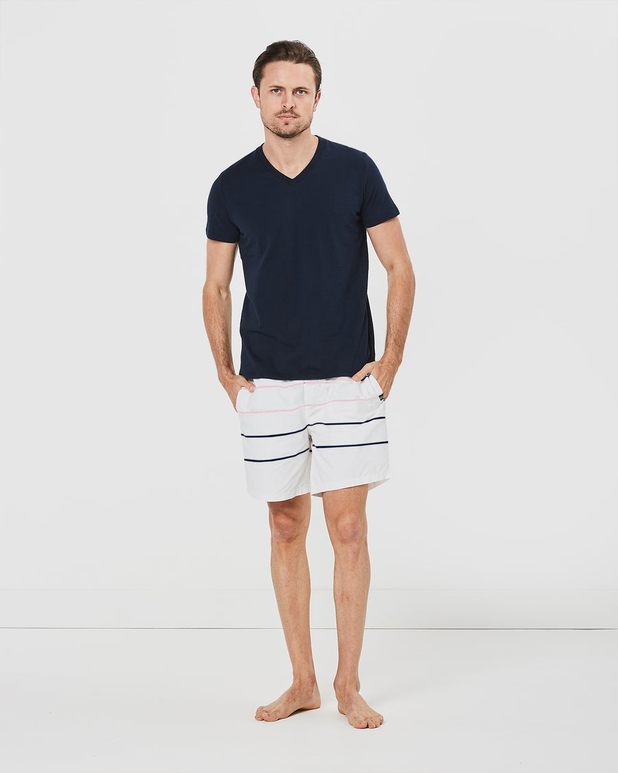 Parallel Board Shorts in White