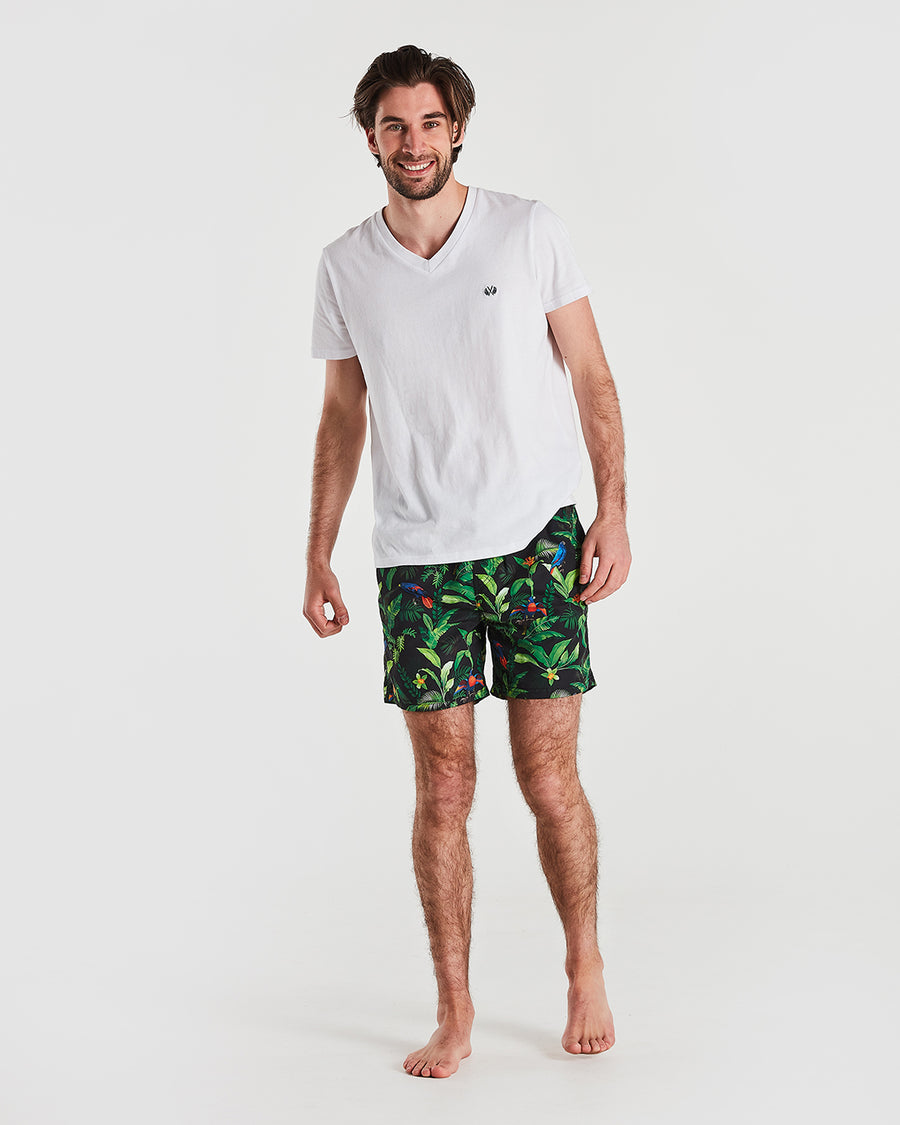 Tropical Lorikeet Boardshort