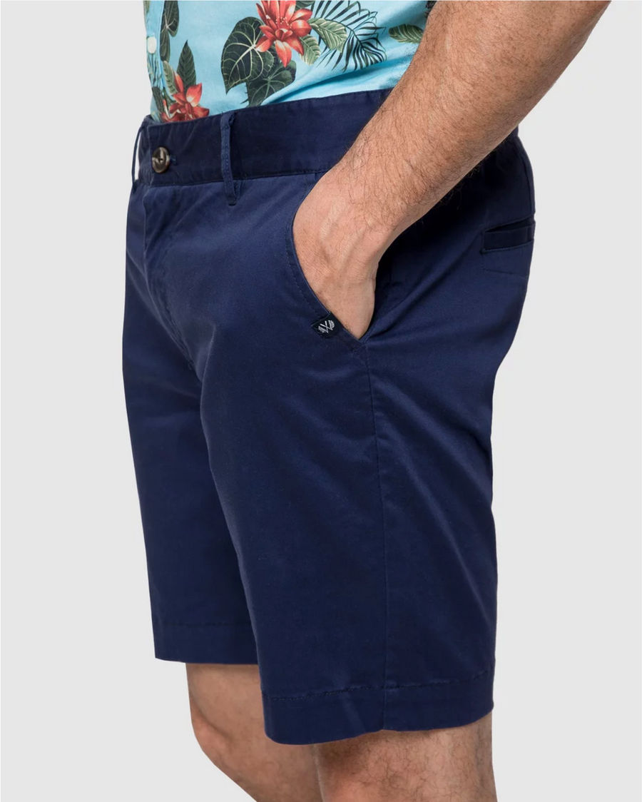 Navy Casual Shorts
