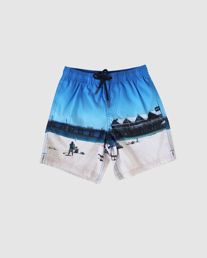 Boys Melbourne Pier Board Short