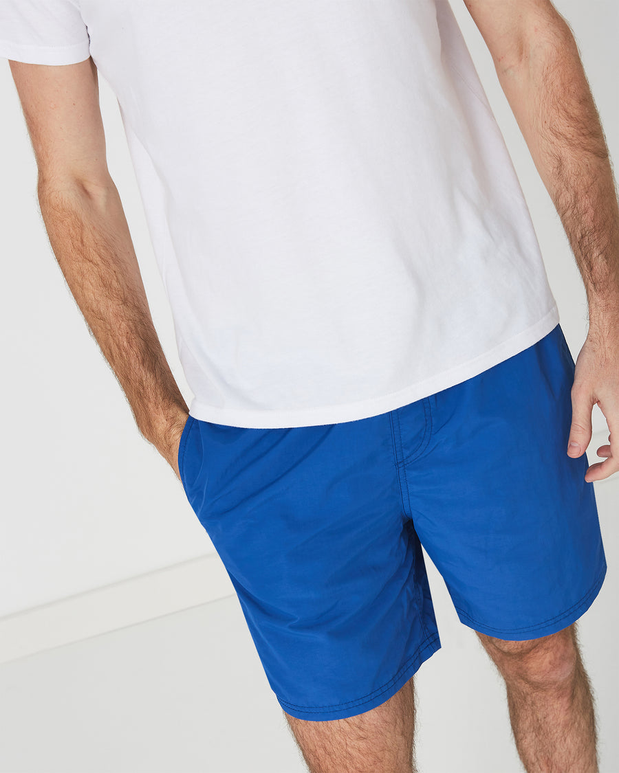 Plus Basic Board Shorts in Blue