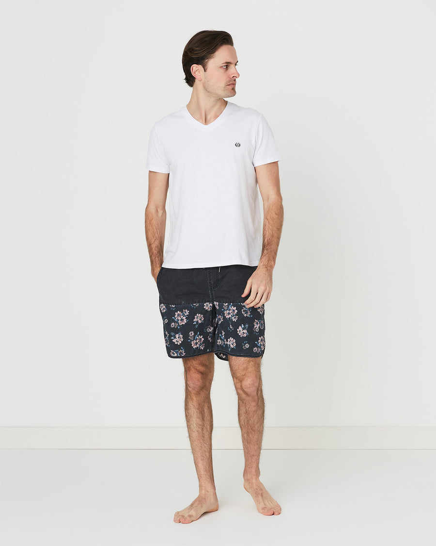 Plus Vintage Capsize Floral Board Short