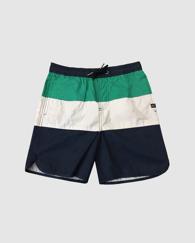 Panel Stripe Board Shorts Boys