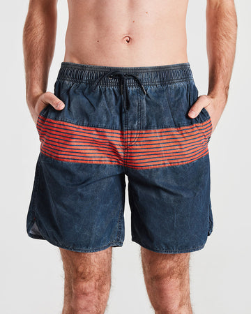 Vintage Stripe Board Short