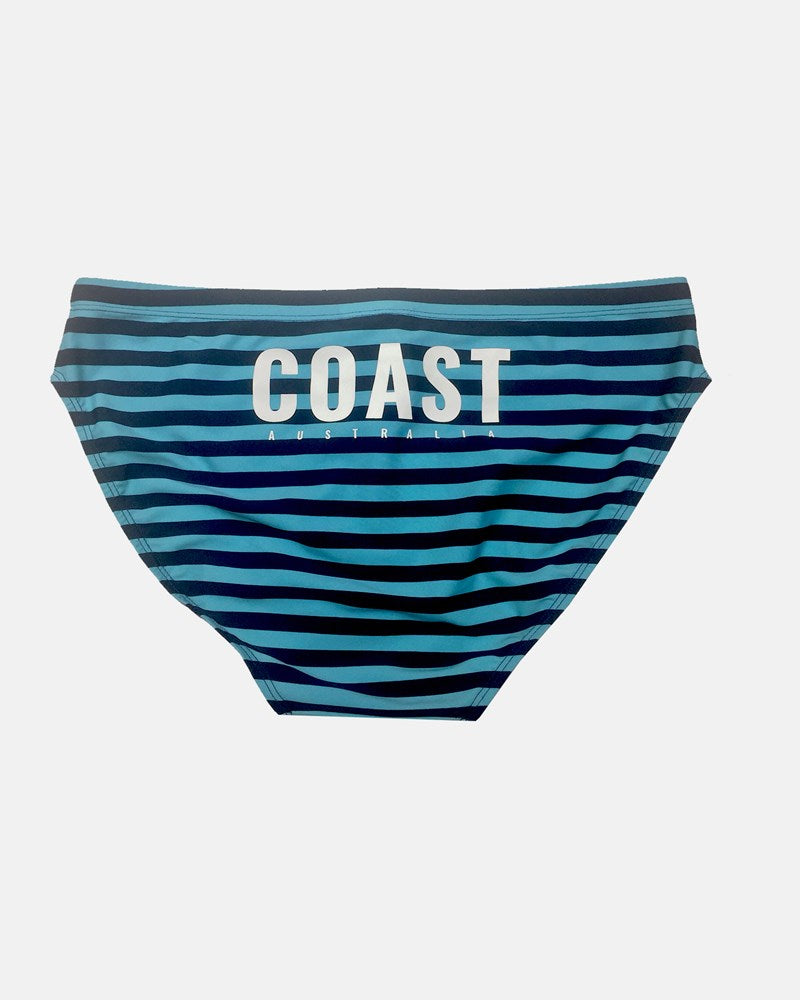 Striped Parrot Swim Brief