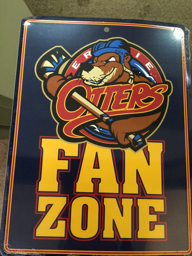 Erie Otters Fan Zone Sign