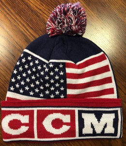 CCM USA Knit Hat