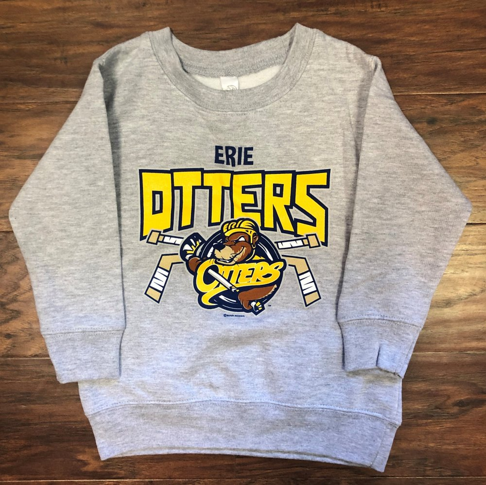 Grey Cinder Toddler Crew Neck