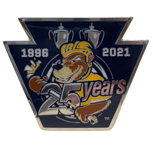25th Logo Pin