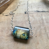 Labradorite Faceted Statement Jewelry