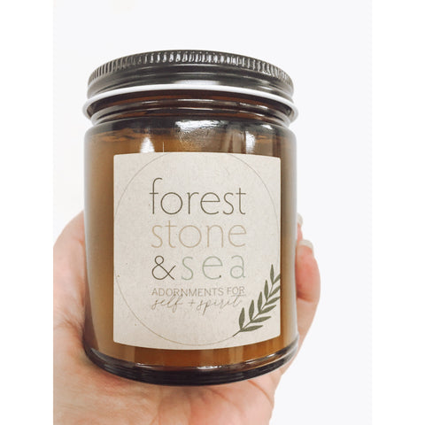Forest, Stone and Sea Candle