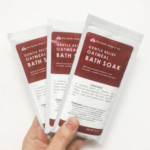 Gentle Relief Oatmeal Bath Soak