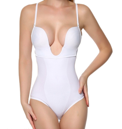 Cleavage Enhancing Compression Bodysuit